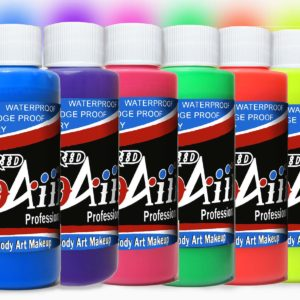 ProAiir Hybrid Fluorescent Colors (UV/NEON) and Metallic Colors